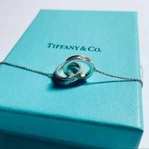 Tiffany & Co Interlocking  Circles Pendant